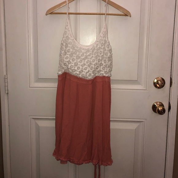 Forever 21 Dresses & Skirts - Pink and White dress